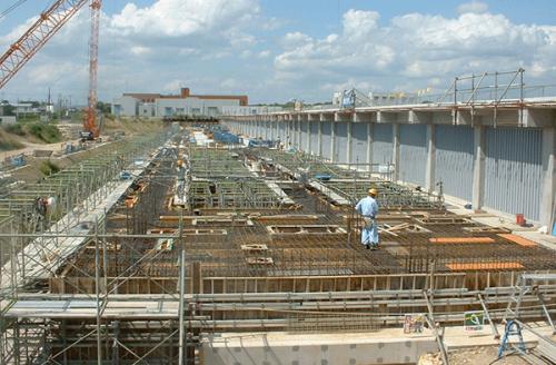 浄化センター 土木・建築工事(平成14年8月)