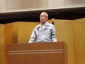 田村組安全協力会会長 挨拶